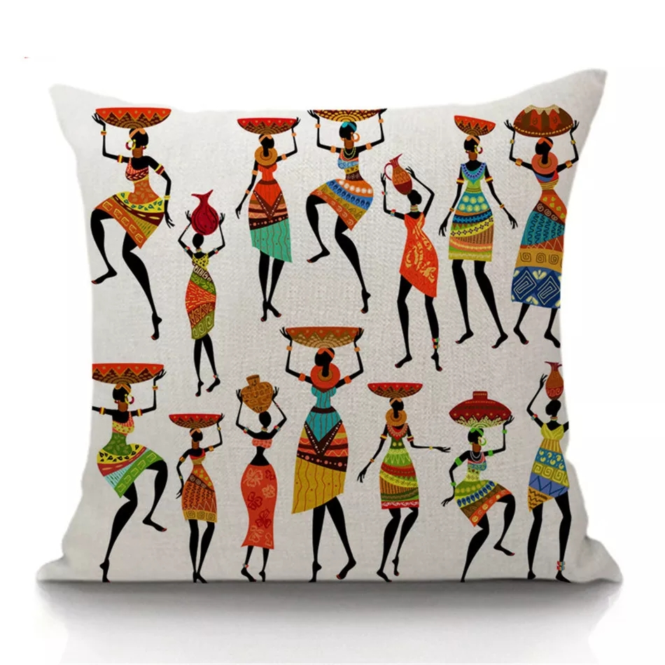 Women Gatherers Cushion Covers · African Cushion Covers for Home Decor 6fcad73993
